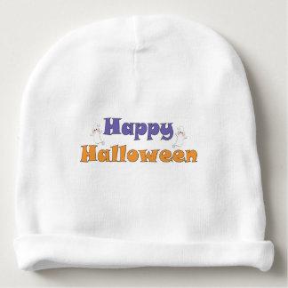 Fantasmas del feliz Halloween Gorrito Para Bebe