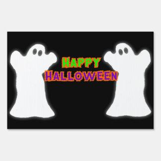Fantasmas del feliz Halloween Señales
