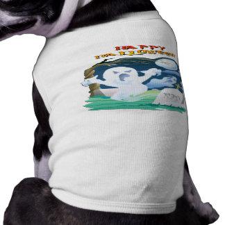 Fantasmas del RASGÓN Camisas De Mascota