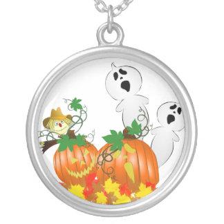 Fantasmas divertidos de Halloween Colgante
