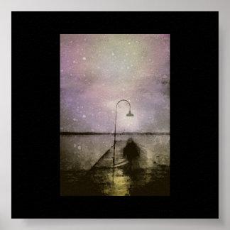fantasmas en la noche póster