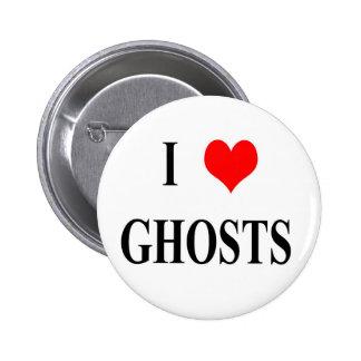 Fantasmas I <3 Pin Redondo 5 Cm
