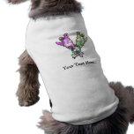 Fantasmas y perro personalizados T de Halloween de Camisa De Perro