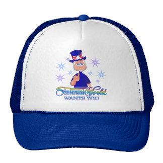 FantasmicWorld Wants You (CD Blue) Trucker Hat