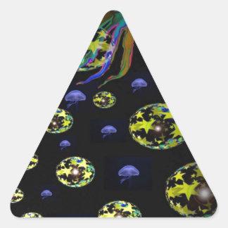 fantast squid.jpg triangle sticker