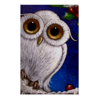 """FANTAST WHITE BABY SNOWY OW HOLIDAY 11""""X17"""" Poster"""