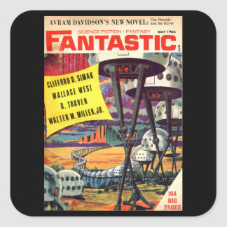 Fantastic 05-1966_Pulp Art Square Sticker