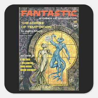 Fantastic 12_Pulp Art Square Sticker