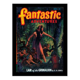 Fantastic Adventures - 1948-04_Pulp Art Postcard