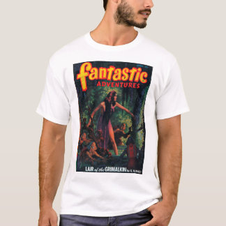 Fantastic Adventures - 1948-04_Pulp Art T-Shirt