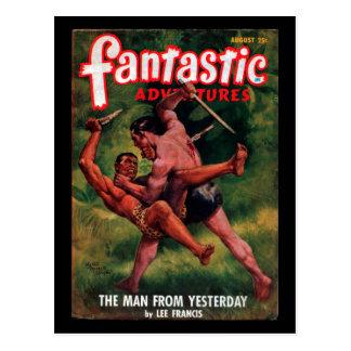 Fantastic Adventures - 1948-08_Pulp Art Postcard