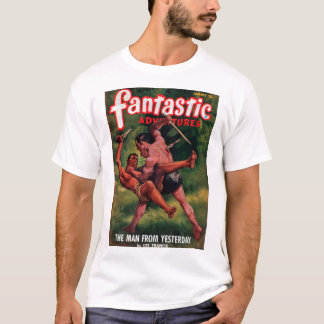 Fantastic Adventures - 1948-08_Pulp Art T-Shirt
