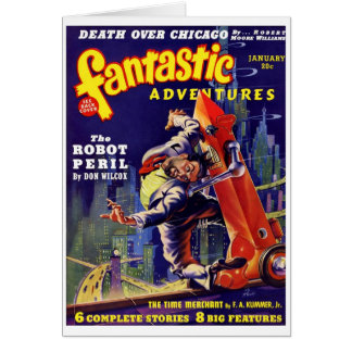 Fantastic Adventures #9 Card