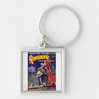 Fantastic Adventures #9 Keychain