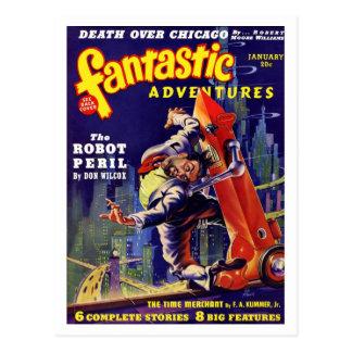 Fantastic Adventures #9 Postcard