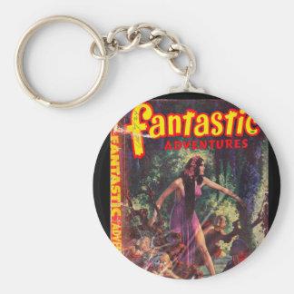 Fantastic Adventures Apr 1948_Pulp Art Keychain
