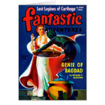 Fantastic Adventures - Genie of Bagdad Card