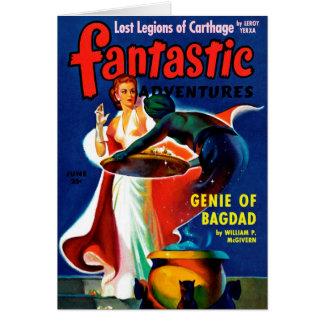 Fantastic Adventures - Genie of Bagdad Card