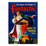 Fantastic Adventures - Genie of Bagdad Poster