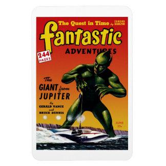 Fantastic Adventures - Giant From Jupiter  Magnet