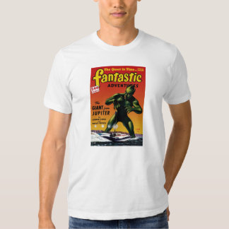 Fantastic Adventures - Giant From Jupiter T Shirt