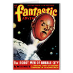 Fantastic Adventures - Robot Men of Bubble City Card