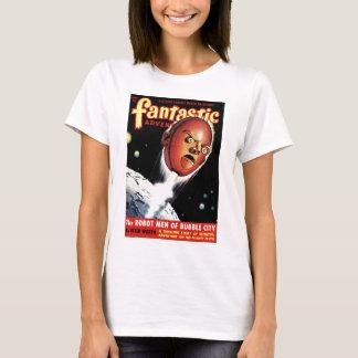 Fantastic Adventures - Robot Men of Bubble City T-Shirt