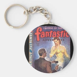 Fantastic Adventures v05 n07 (1943-07.Ziff-Davis)_ Basic Round Button Keychain