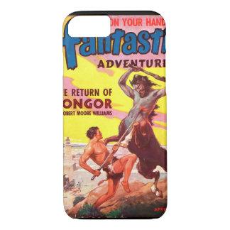 Fantastic Adventures v06 n02 (Apr 1944)_Pulp Art iPhone 7 Case