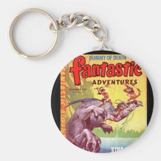 Fantastic Adventures v07 n04 (Oct 1945)_Pulp Art Keychain
