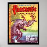 Fantastic Adventures v07 n04 (Oct 1945)_Pulp Art Poster