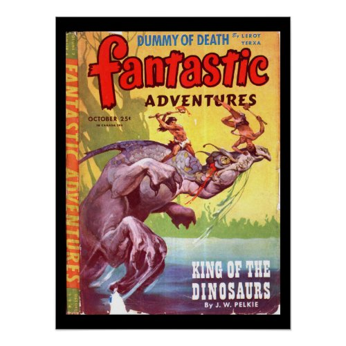 Fantastic Adventures v07 n04 (Oct 1945)_Pulp Art