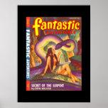 Fantastic Adventures v10 n01 (Jan 1948)_Pulp Art Poster