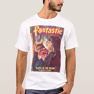 Fantastic Adventures v10 n02 (Feb 1948)_Pulp Art T-Shirt