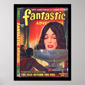 Fantastic Adventures v12 n04 (Apr 1950)_Pulp Art Poster