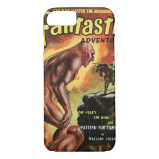 Fantastic Adventures v14 n02 (Feb 1952)_Pulp Art iPhone 8/7 Case