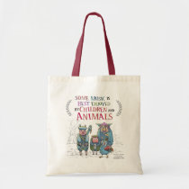 Fantastic Animal Band Tote Bag