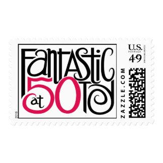 Fantastic at 50 Stamp