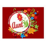 Fantastic Aunt Postcard