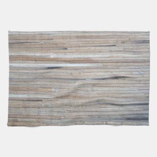 Fantastic Barnwood Design Kitchen Towells - Cabin Kitchen Towels