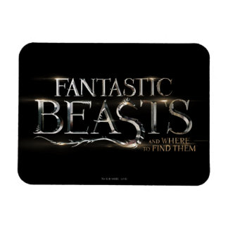 Fantastic Beasts And Where To Find Them Logo Magnet