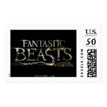 Fantastic Beasts And Where To Find Them Logo Postage