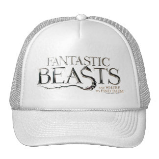 Fantastic Beasts And Where To Find Them Logo Trucker Hat