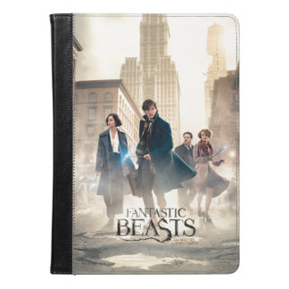 Fantastic Beasts City Fog Poster iPad Air Case