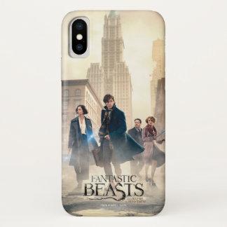Fantastic Beasts City Fog Poster iPhone X Case