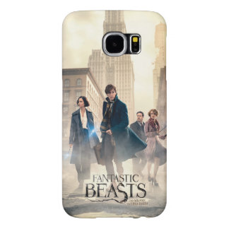 Fantastic Beasts City Fog Poster Samsung Galaxy S6 Case