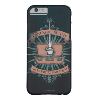 Fantastic Beasts Newt's Briefcase Graphic Barely There iPhone 6 Case