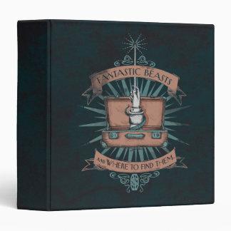 Fantastic Beasts Newt's Briefcase Graphic Binder
