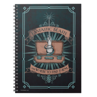 Fantastic Beasts Newt's Briefcase Graphic Notebook
