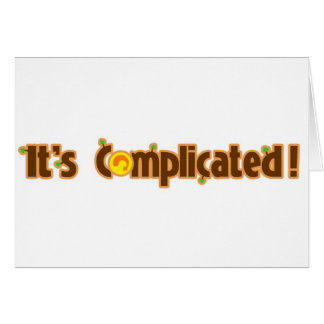 Fantastic Contraption It s Complicated Greeting Card